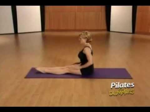 Pilates for Dummies Leg Pull Back