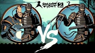 shadow fight 2 titan lynx vs lynx