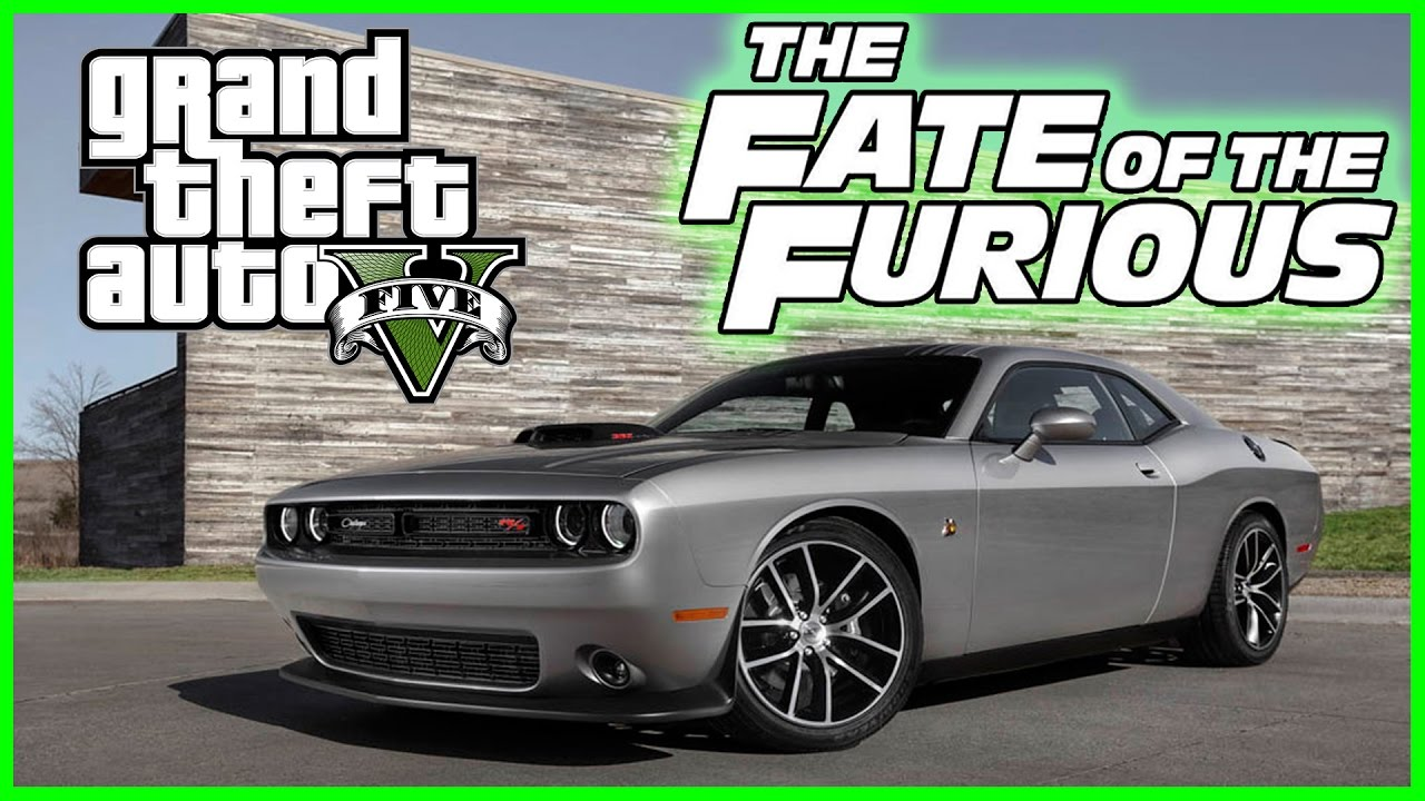 Fate Of The Furious Gta Dodge Challenger Showcase Fast And