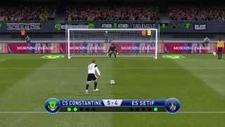 شباب قسنطينة ضد سطيف الدوري الجزائري csc vs ess pro 15