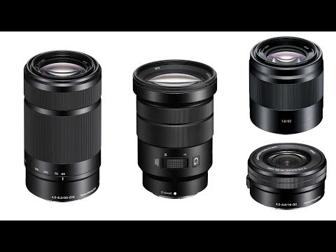 Sony Lenses from Beginner to Pro