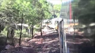 El Tren Chepe, e/ San Rafael y Cuiteco, México 01/Jan/2014 #6 メキシコ鉄道、サンラファエルからクイテコ駅へ