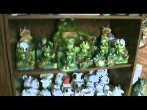 Worlds Largest Frog Collection Youtube
