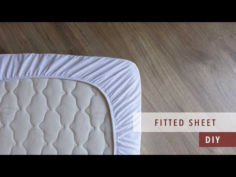 How To Sew A Fitted Sheet Bedding Set Ep 3 Youtube
