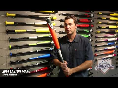 CheapBats.com 2014 Easton MAKO Youth Baseball Bat YB14MK