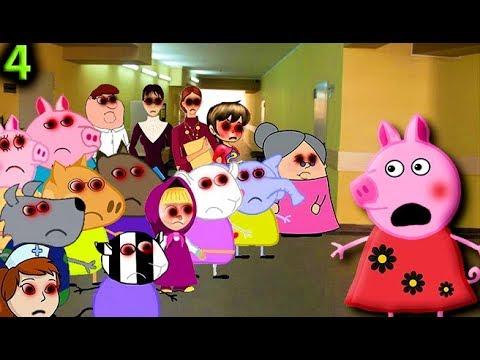 Мультики для детей свинка пеппа новые серии СТРАШНЫЙ СОН 4 серия Мультфильмы для детей Свинка пеппа