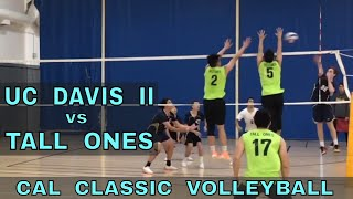 UC Davis II vs Tall Ones - Cal Classic Volleyball Tournament (11/10/18)