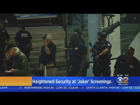 Threat Forces Huntington Beach Theater To Close On 'Joker' Opening Night