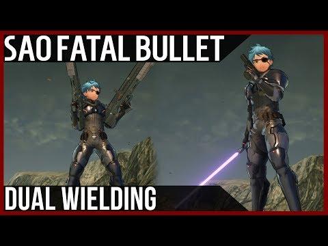 Dual Wielding Weapons in Sword Art Online: Fatal Bullet