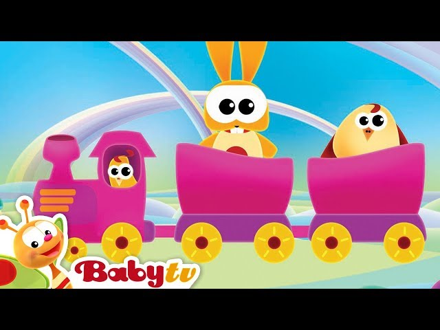 The Train with the Cuddlies | BabyTV