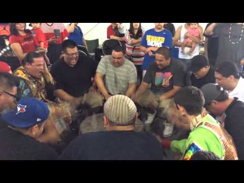 Bear Creek Singing Champ @ Seven Clans Powwow 2014