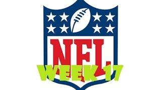 NFL PREDICTIONS WEEK 17