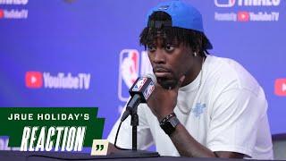 Jrue Holiday NBA Finals Game 4 Media Availability