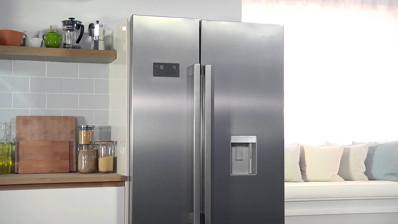 Learn All About Our American Style Fridge Freezer Beko Youtube Refrigerator Understanding Wiring Diagram Home Improvement