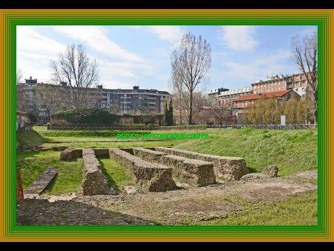 Le fondamenta dell'anfiteatro romano a milano