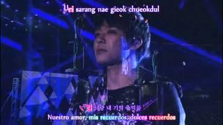 [HD] JYJ W.C. in Seoul - Nine (Focus Yoochun) (Karaoke + Sub. Español)