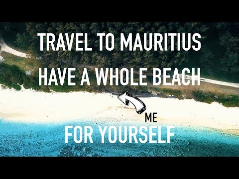 Mauritius - A beach for ourselves in the south!