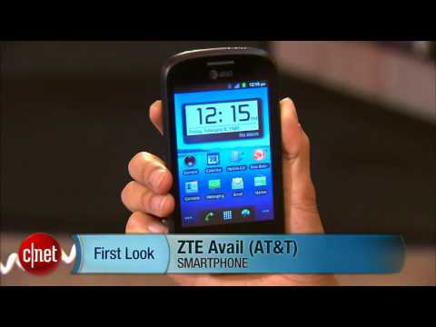 First Look: Pre-pay and go with ZTE's AT&T Avail