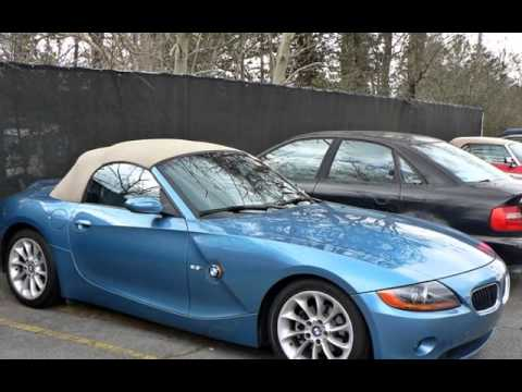 2003 Bmw Z4 2 5i For Sale In Marietta Ga Youtube