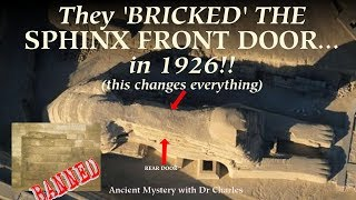 Hidden until today: THE SPHINX HAS
