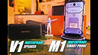 aERMOO M1 Waterproof Phone & V1 Waterproof Speaker Review - Unboxing, Inspection, Setup, Pros & Cons