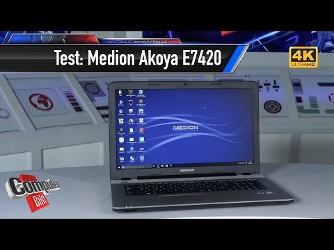 Test Aldi Notebook Medion Akoya E7420 YT