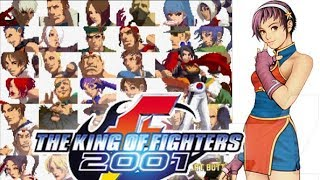 PS2『KOF'2001』アテナ&アンヘル&メイ・リー&フォクシーでクリア-544本目【マルカツ!レトロゲーム】