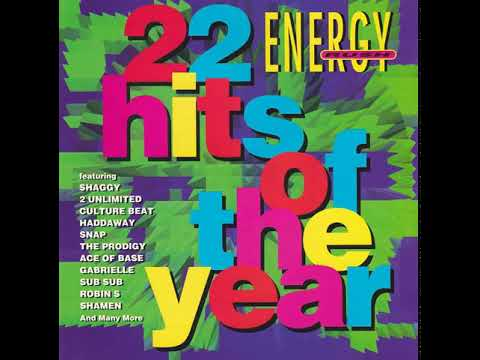 Various Artists - Energy Rush (22 Hits Of The Year) front cover