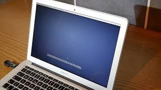 Mac OSX komplett neu installieren über USB-Stick