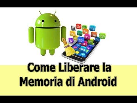 come liberare la memoria quasi piena su android
