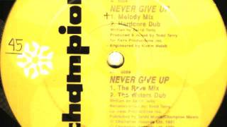 Todd Terry Project - Never Give Up (The Rave Mix)
