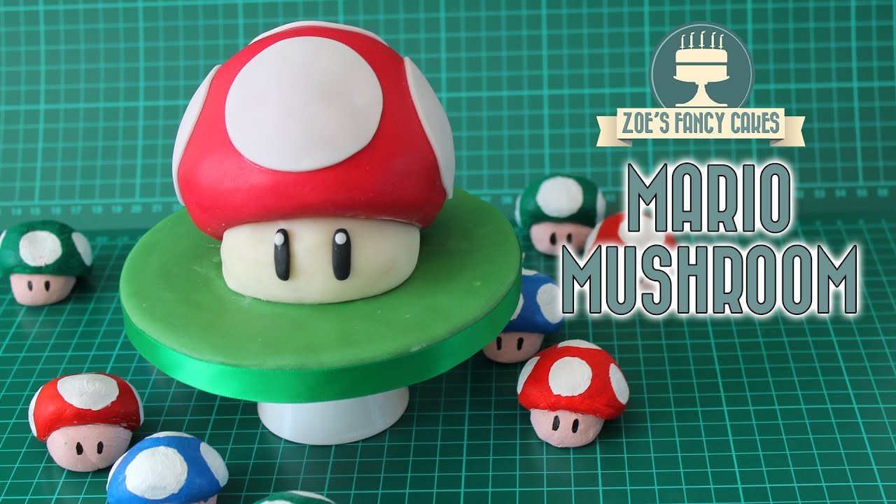 Mario Mushroom Cake : Gaming cakes collaboration with Red ... - photo#6