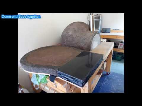 DIY Pizza/Wood Fired Oven Build Slide Show 2018
