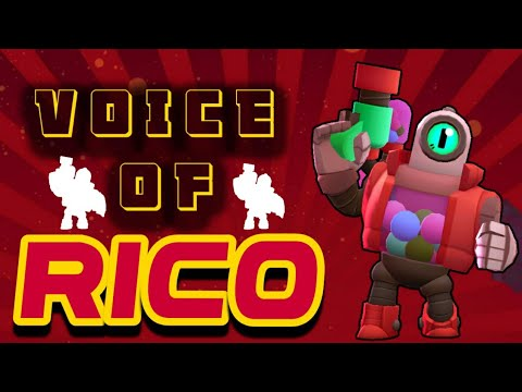 All Voices Of RICO On Brawlstars | Every Voice Narration Of Brawlstars
