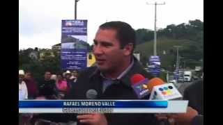RMV inaugura carretera Acuaco-Huehuetla