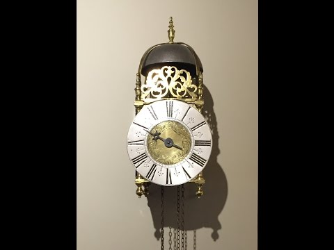 Antique Lantern Clocks - An Introduction