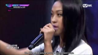 (ENG SUB) [Unpretty Rapstar 3 Ep. 4] Nada vs Giant Pink @1v1 Diss Battle