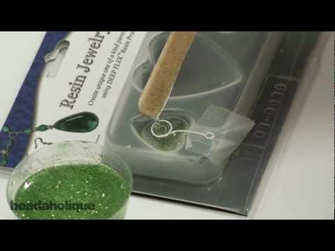 How to Embed an Eye Pin Bail Into a Resin Mold