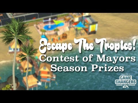 SimCity Build It: Escape The Tropics Season First Look!