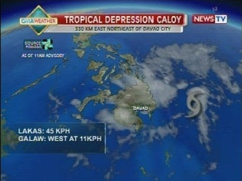 Chino Gaston NTVL: GMA weather update as of 3:41pm (March 21, 2014)