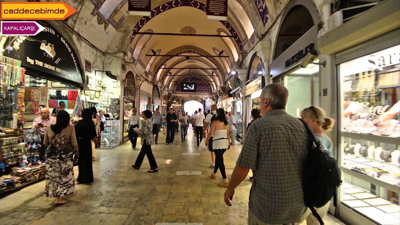 Kapalı Çarşı Eminönü- İstanbul (Grand Bazaar, İstanbul ,Turkey) - YouTube
