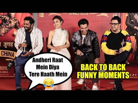 Made In China Back To Back FUNNY MOMENTS With RajKummar Rao & Mouni Roy 😂😂😂 Mp3