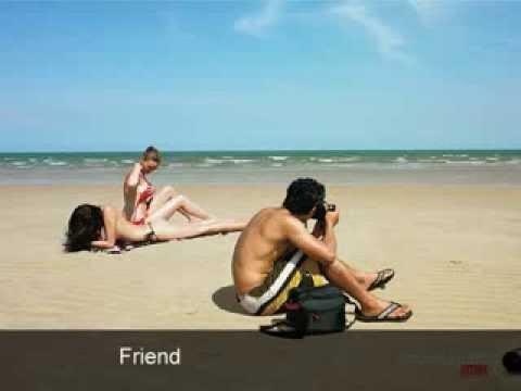 Ngắm em khỏa thân trên bãi biển - Tờ quảng cáo máy ảnh