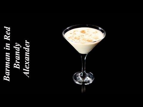 Cómo Hacer El Clásico Cocktail BRANDY ALEXANDER