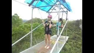 the plunge experience at danao adventure park bohol   mjoy cantilado