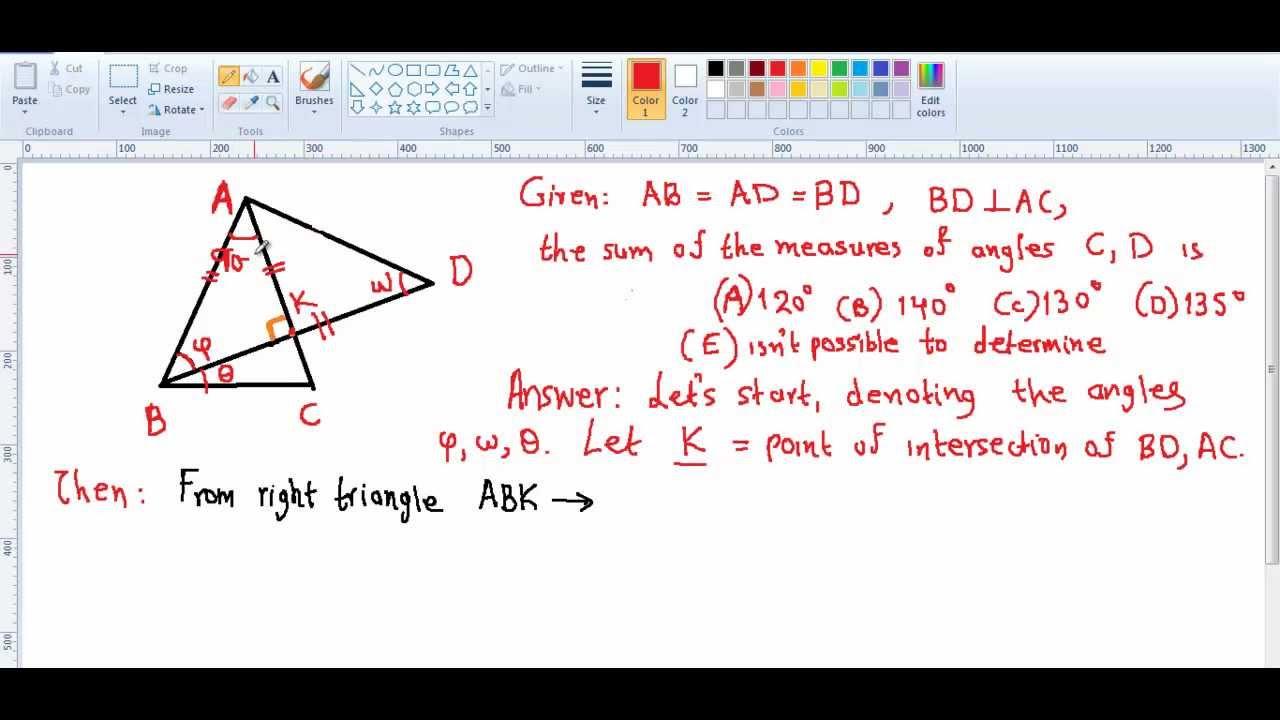 gcse geometry tricky problem gcse geometry tricky problem
