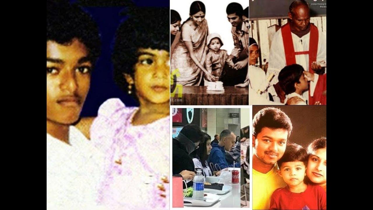 Actor Vijay Family Photos Wife Sangeetha Their – Fondos de Pantalla