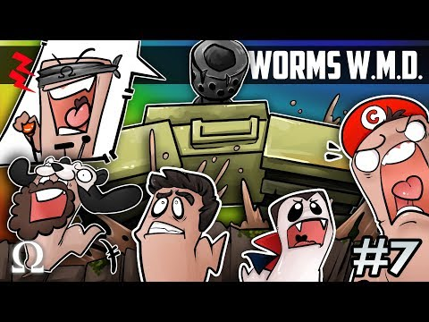 THE LUCKIEST WORM! (AGAINST ALL ODDS) | Worms W.M.D. #7 Ft. Jiggly, Chilled, Sattelizer, Swag