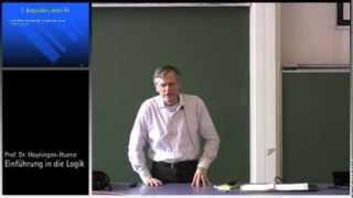 Einführung in die Logik, 1. Vorl., Teil II