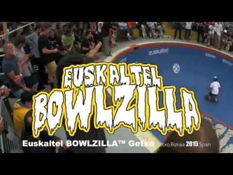 Euskaltel BOWLZILLA? Getxo Saturday, September 12th, 2015,La Kantera Skatepark Arrigunaga Beach